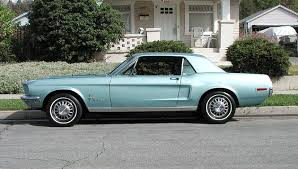 1968 mustang coup