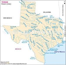 geography map of texas