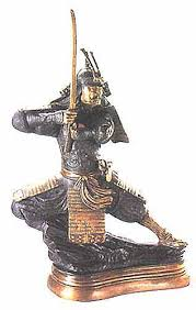 chinese warriors statues