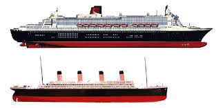 queen mary 2 size