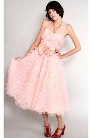 pink vintage dresses