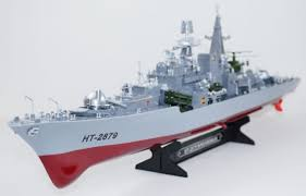 rc war ship