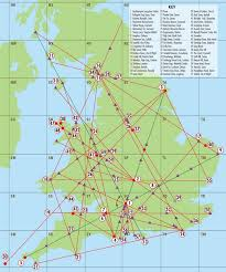 map of ley lines