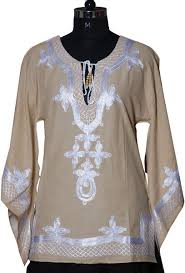 embroidered kaftans