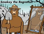 smokey the bear cartoon