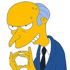 mr burns from simpsons