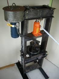 cocoa butter press