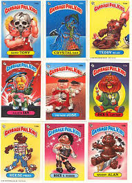garbage pail kids stickers