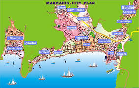 marmaris hotel map