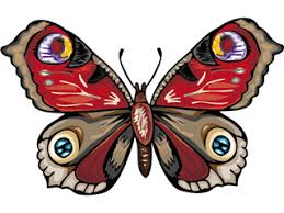 clipart of butterflies