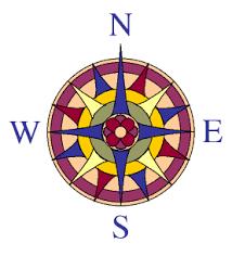 clip art compass rose