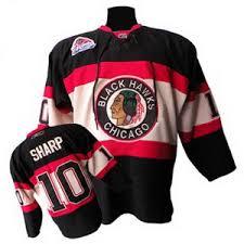 blackhawks jersey black