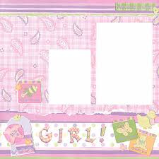 baby girl scrapbooking ideas