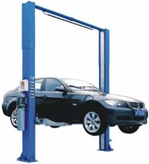 twin post lift