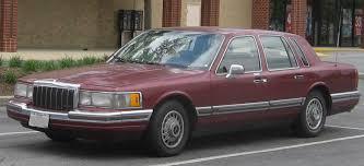 lincoln town car 92