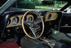 1969 mustang interior