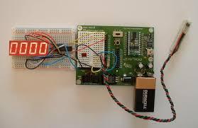 digital tachometer circuit