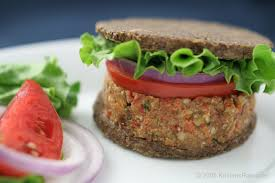 raw food burger