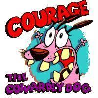 courage cowardly dog