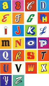 alphabet letterings