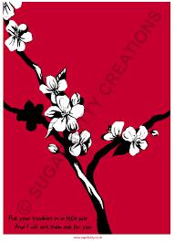 apple blossom art