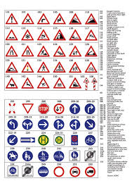 road signs and what they mean