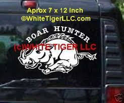 hog hunting stickers