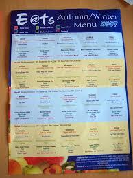 menus in france