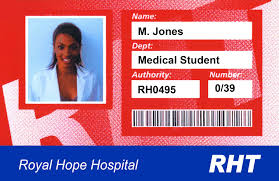doctor id badge