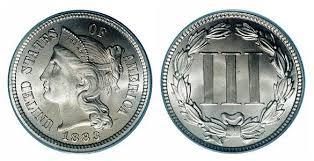 3 cent coins
