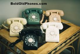 old dial phones