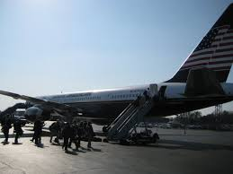barack obama campaign plane