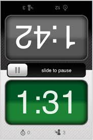 i phone clock