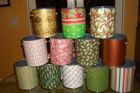 decorating paint cans