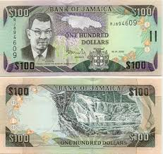 100 jamaican dollars