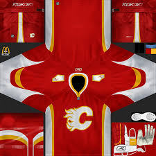 calgary flames vintage jersey