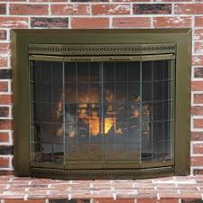 brass fireplaces