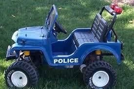 power wheels police