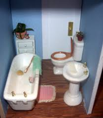 dollhouse bathrooms