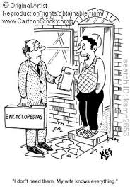 encyclopedia salesman