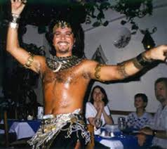 male belly dance costume