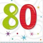 80 birthday