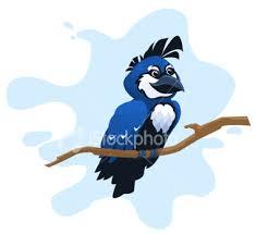 cartoon blue