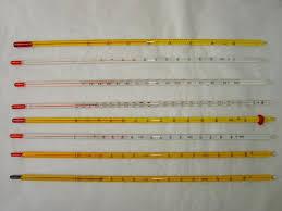 liquid glass thermometer