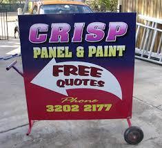 board sign