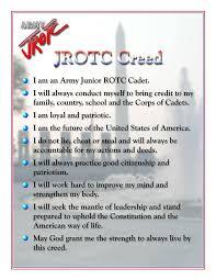 jrotc cadet creed
