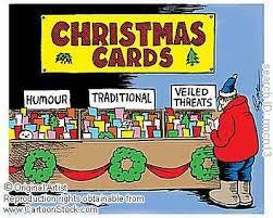 cartoon xmas cards