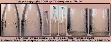 embossed bottles