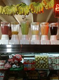 fruit juice bars