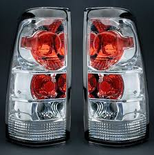 clear tail light
